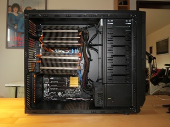 Passiv gekühlter PC