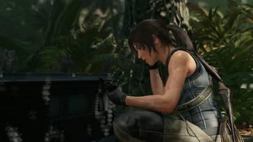 Lara hat etwas gefunden